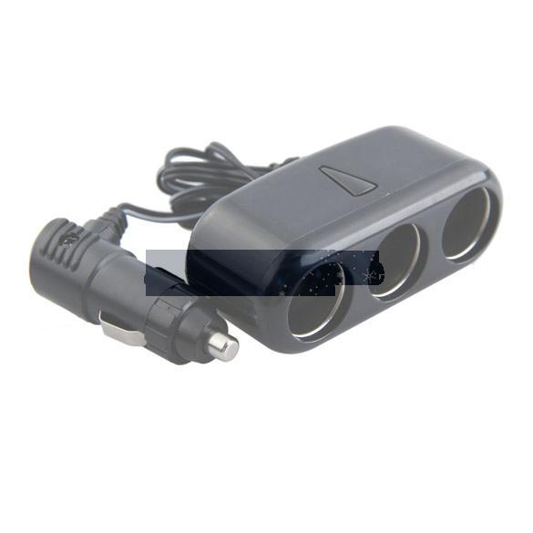 Бесплатная доставка продажа 3 разъемы трехместный автомобилей прикуривателя разветвитель 12 В зарядное устройство адаптер ASAF
