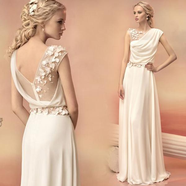 Resultado de imagen para goddess wedding dress