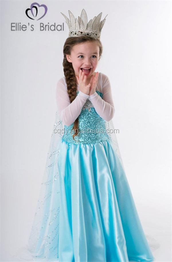 FR001-1 cla.jpg  sc 1 st  Alibaba & 2015 Cheap Children Girl Frozen Elsa Dress Wholesale Frozen Princess ...
