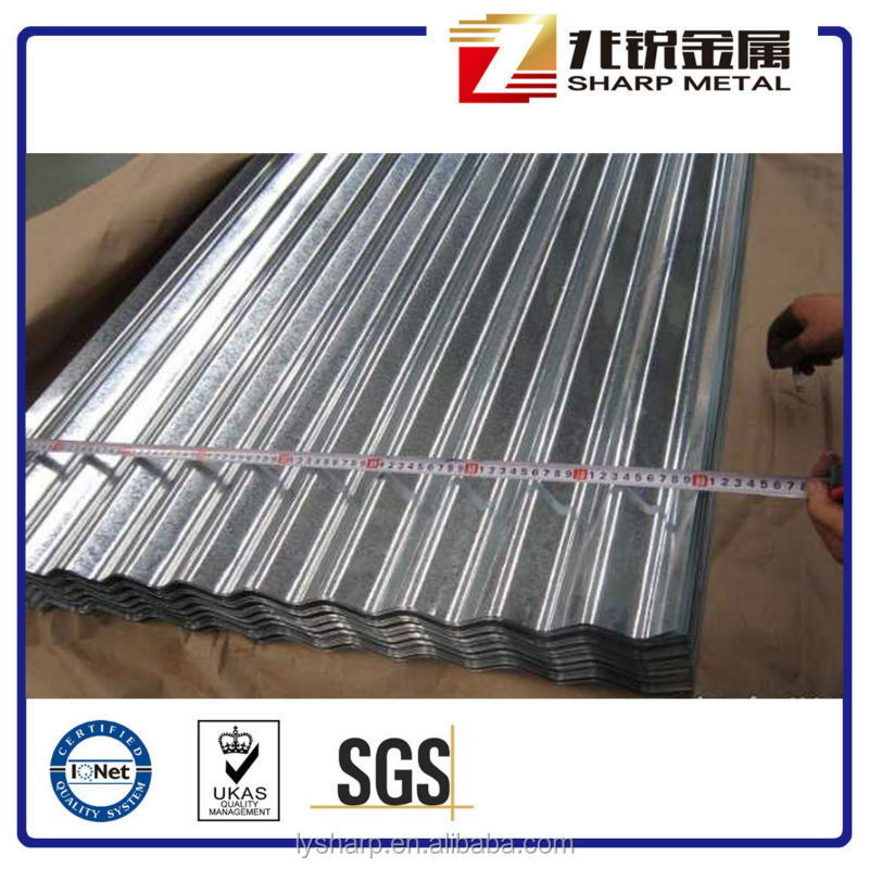 22 Gauge Thickness Galvanized Corrugated Steel Sheet