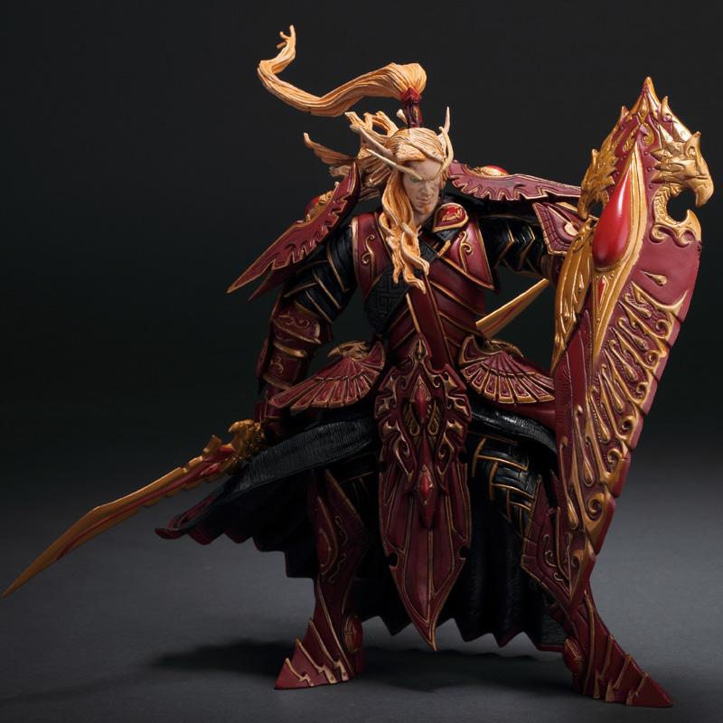 Illidan Vashj Undead Warlock Blood Elf Rogue Arthas Sylvanas Human  Priestess Night Elf Hunter Neltharion PVC Action Figure Toy