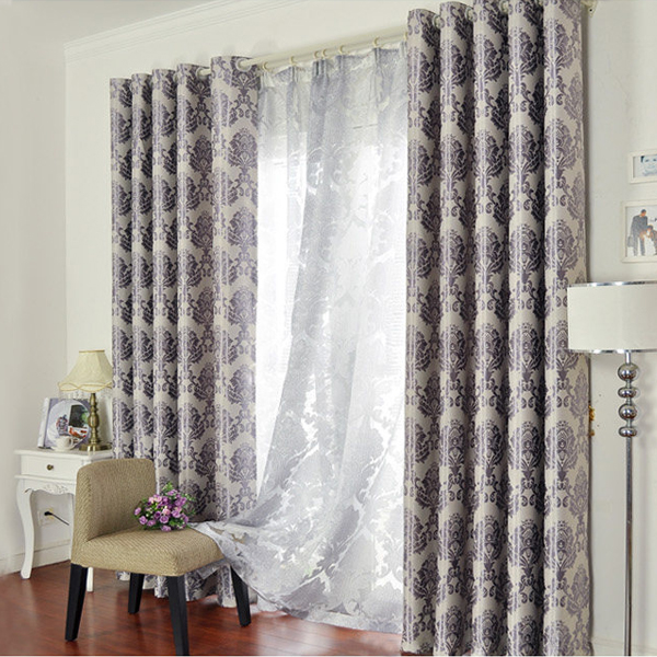 Customize the sitting room the bedroom finished shading cloth Jane ou feng high-end curtains Custom curtain cloth The <font><b>Italian</b></font>