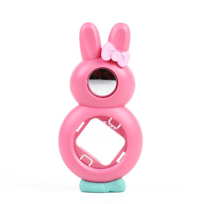 Крупным планом объектив селфи зеркало для съемки селфи милый кролик стиль для Fuji Instax Mini 7S 8 8 + 9 Polaroid аксессуары для камеры(Китай)