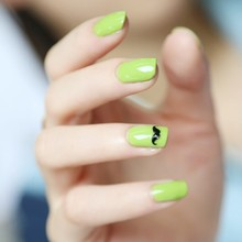 6pcs Manicure Set 4 Color 5ml soak off Gel nail art with 6ml base coat top