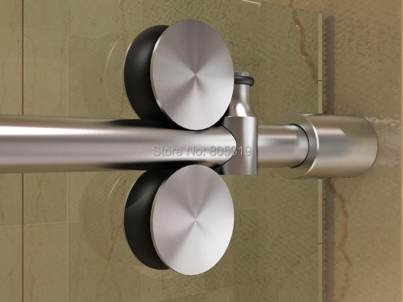 Aliexpress Com Buy 60 Quot Glass Sliding Shower Door Chrome