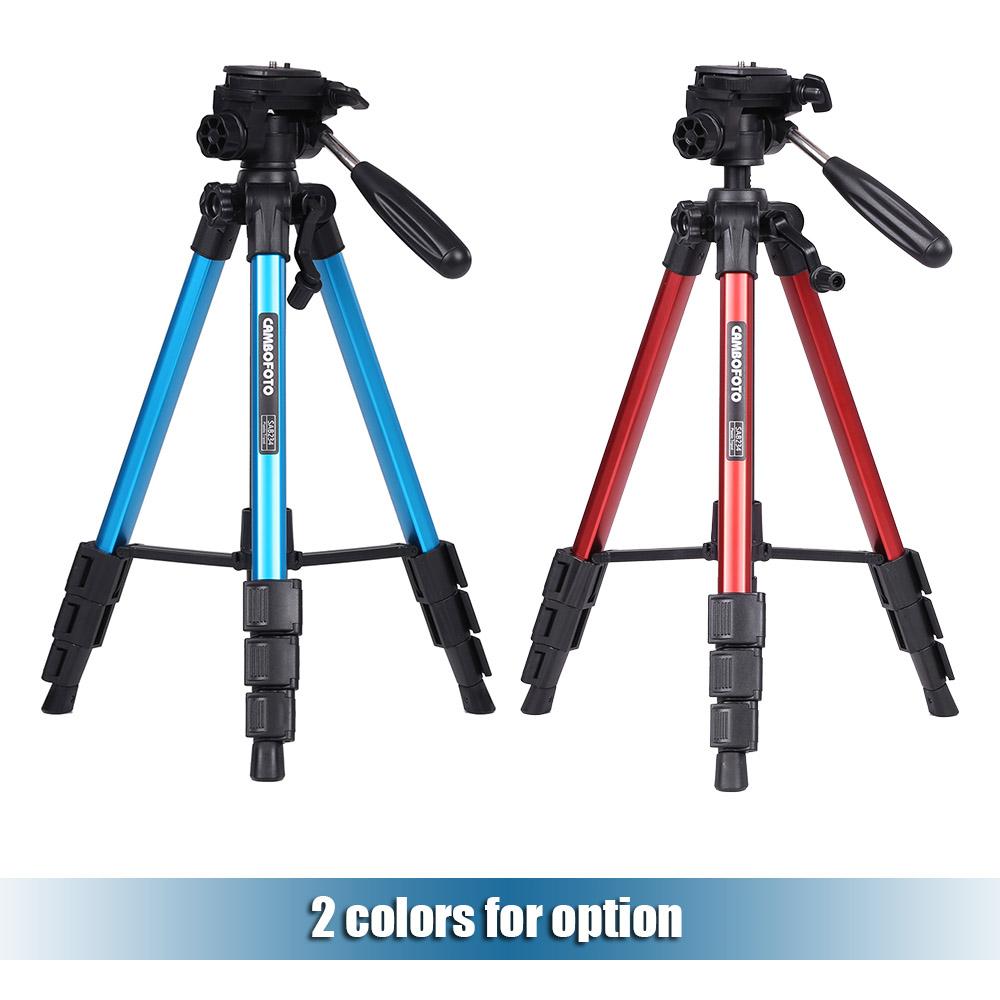 CAMBOFOTO SAB234 Pro Алюминиевого сплава Штатив Камеры с 360 Градусов Мяч Головой Центральной Колонке для DSLR Камеры Видеокамеры