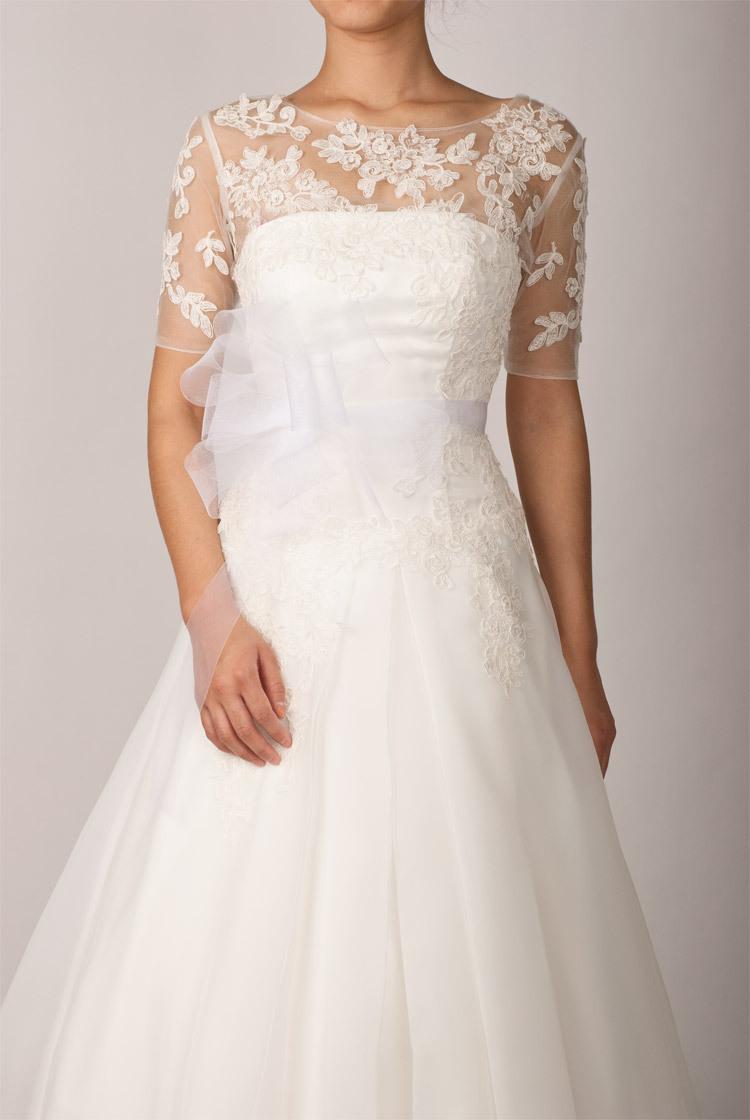 2013 half sleevees custom made accessories bridal shawl wrap bolero jacket wedding dress lace in. Black Bedroom Furniture Sets. Home Design Ideas