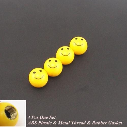 4 шт. улыбка счастливое лицо мяч автомобиль автошины покрышки стержня клапана пыльники покрытия для Hyundai бесплатная доставка