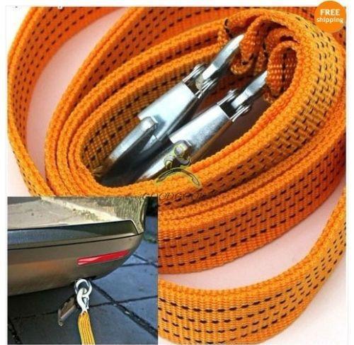 2015 срок годности прямых продаж Cabrestante Corda 3 тонны буксировочный кабель буксировка ремень веревка с крюками аварийного тяжелой работы 6 фут(ов)