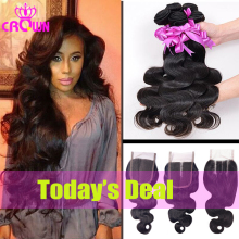 Malaysian Body Wave Hair Extension Bundles Fast  Free
