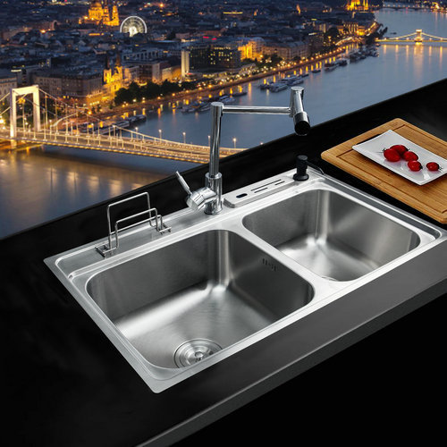 online kaufen gro handel stainless sink aus china stainless sink gro h ndler. Black Bedroom Furniture Sets. Home Design Ideas