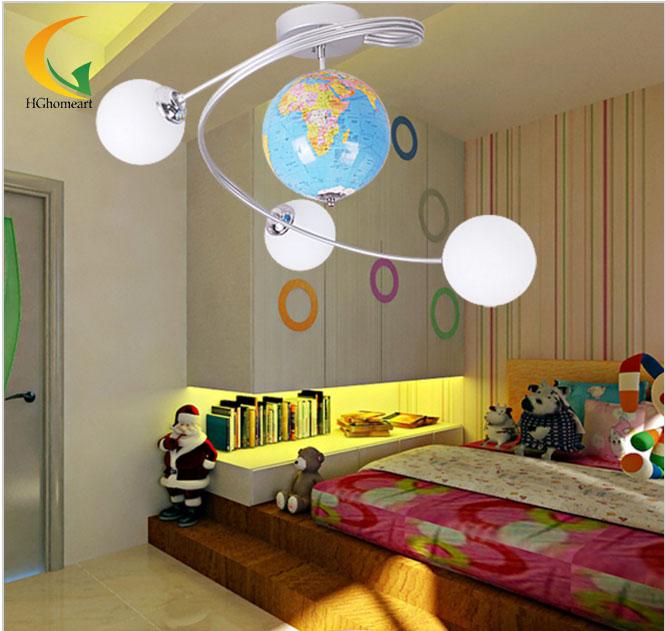 HGHomeart lights ceiling boy children bedroom ceiling