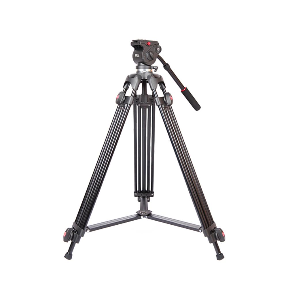 Jy0508a 1.5 м складная телескопическая алюминиевого сплава DSLR видеокамера штатив с жидкостью перетащите руководитель амотизационной