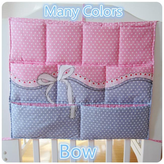 Promotion Kitty Mickey 62 52cm Baby Bed Hanging Bag Large Waterproof Storage Bag Crib Bedding set