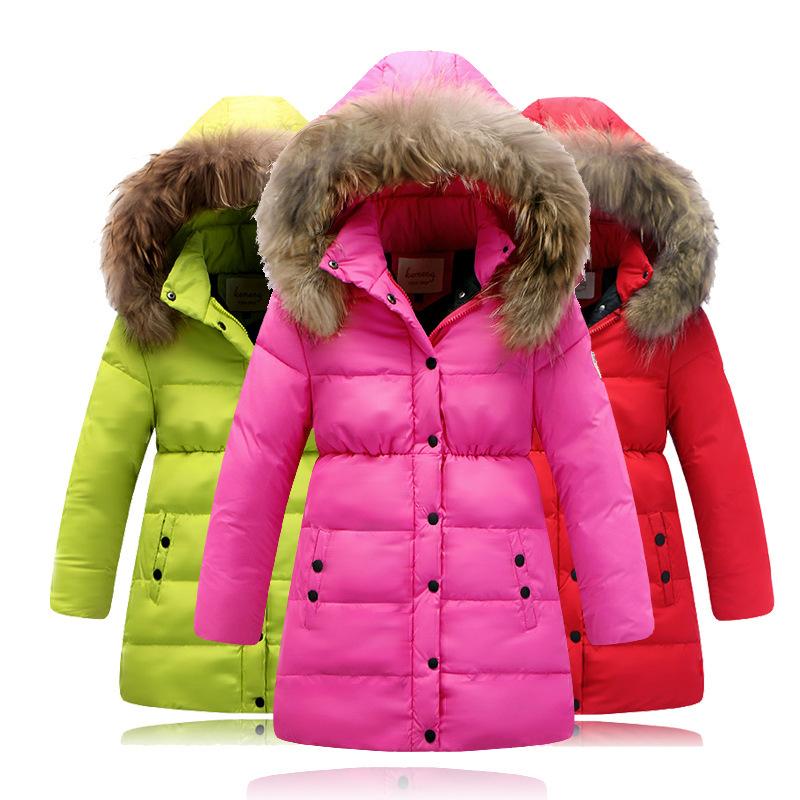 Fashion winter jacket for Girl down Jackets Coats warm ...