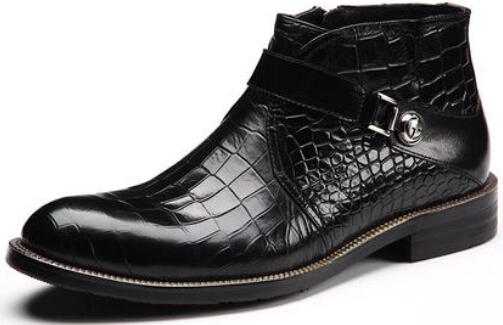 Crocodile skin boots - photo#54