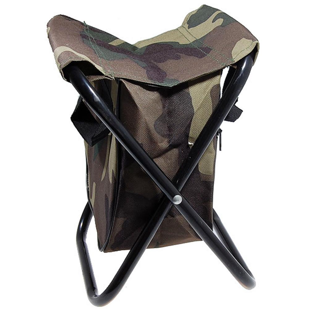Camo Folding Camping Chair Stool Free Shipping Worldwide