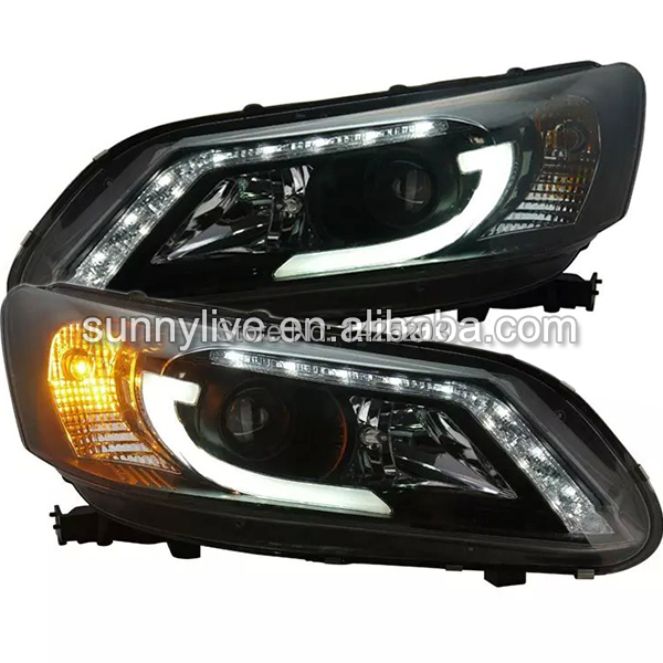 buy 2013 2014 year for accord for honda led head lamp headlights front light sn. Black Bedroom Furniture Sets. Home Design Ideas