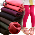 Retail 3 11years leggings candy thickened velvet children Kids infant Baby Combed Cotton spring autumn fall