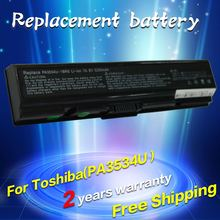 PA3534U-1BAS PA3534U-1BRS laptop battery For Toshiba Satellite A200 A205 A210 A215 L300 L450D L500 L505 L555