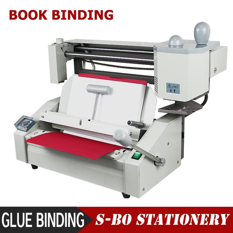 Glue Binding Machine Book Binding Machine DC30-in Binding