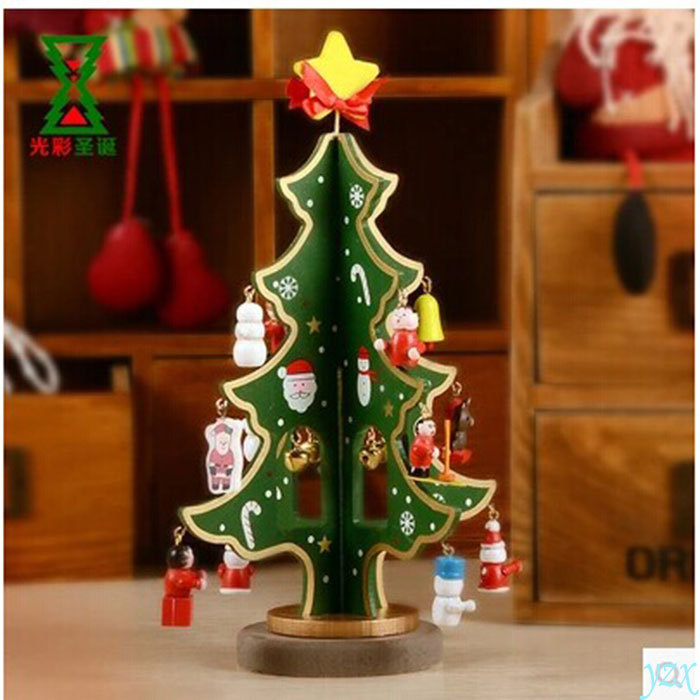 Christmas Tree Decorations Aliexpress: Wooden Christmas Tree Decorations Christmas Holiday Gifts