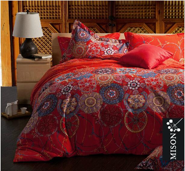 achetez en gros boh me chic literie en ligne des grossistes boh me chic literie chinois. Black Bedroom Furniture Sets. Home Design Ideas