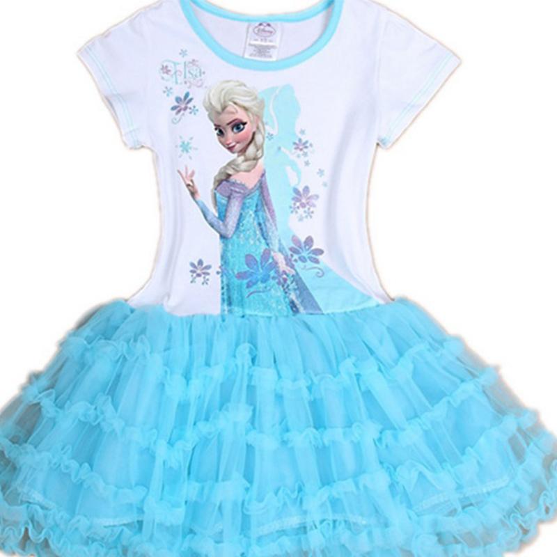 ee38b11e5a5b3 Hot sale children toddler clothes Fashion Princess kids Girls Queen Elsa  Cosplay Fancy Dress Costumes Children