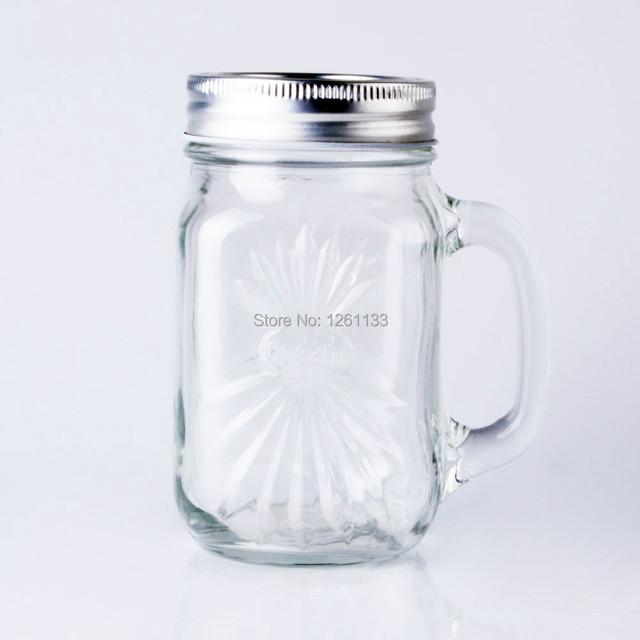 4Pc/set wholesale 16oz 480ml Clear beverage/juice/wine