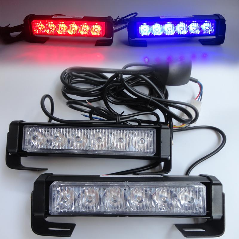 High Power 36w 12v Strobe Warning Light Bar Trailer Marker