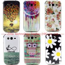 Cute Owl Flowers TPU Soft Case For font b SAMSUNG b font Galaxy Grand Duos i9082