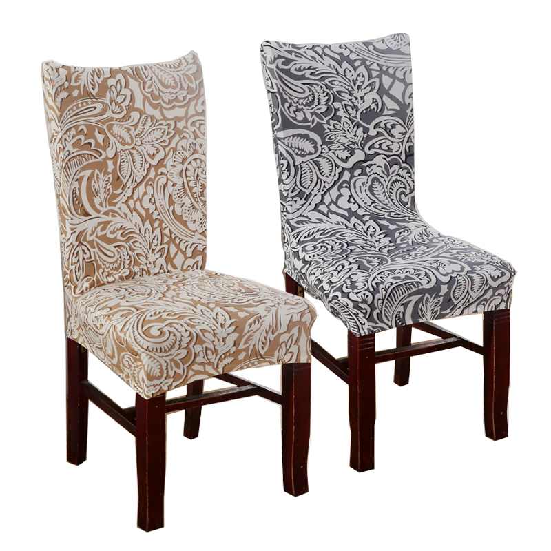 cheap dining room chair | 1 Piece Plum Chair Covers Cheap Jacquard Stretch Chair ...