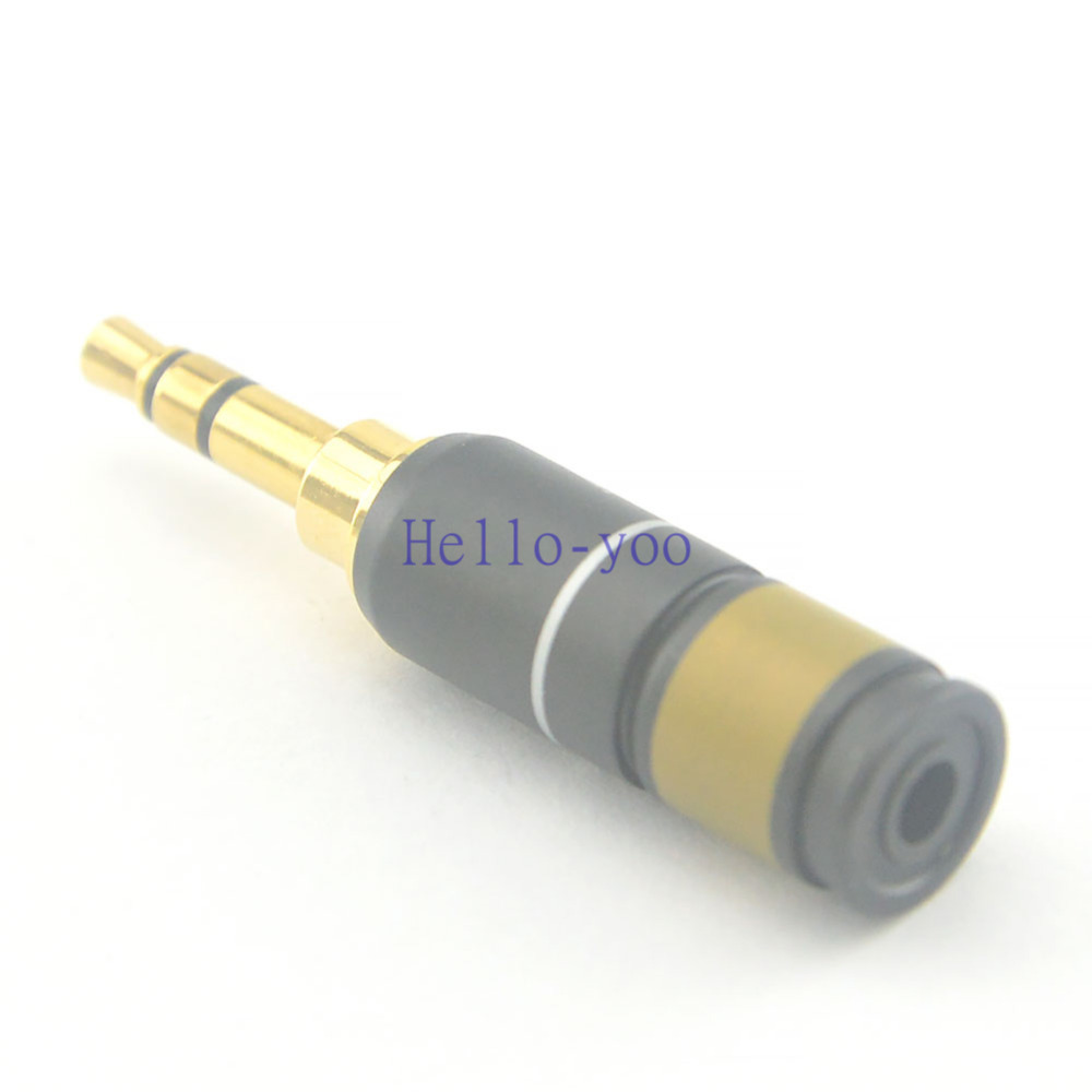 5pcs lot 3 5 mm stereo audio connector 3 pin headphone plug male jack for cable adapter. Black Bedroom Furniture Sets. Home Design Ideas