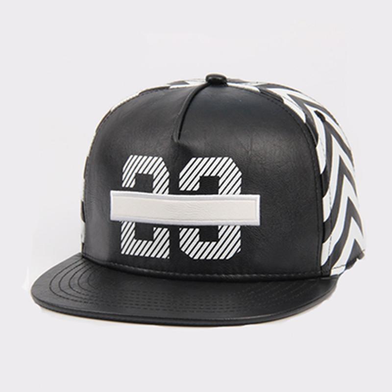 ebay 2016 new black 23 jordan leather snapback caps baseball hat for men  women sport hip 8f443243d77