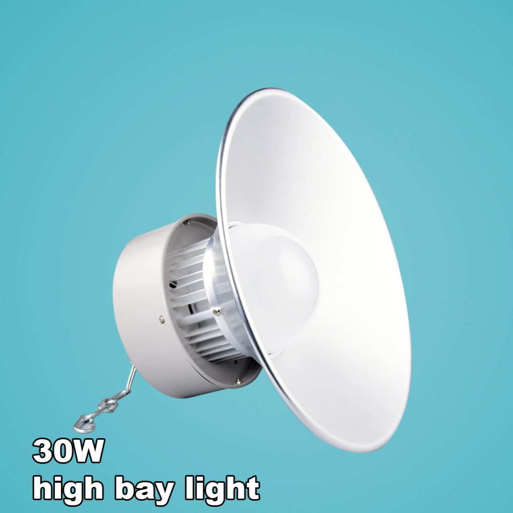 Indoor Factory Warehouse Light Led High Bay Light 60w High: LED High Bay Light 30W SMD 5730 AC100 240V Factory