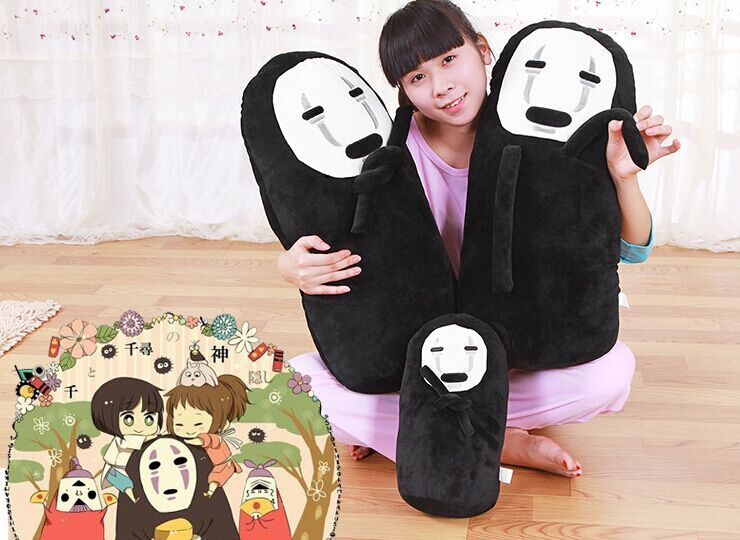 30cm 60cm Anime cartoon spirited away plush No face plush toy doll no face spirited away