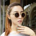 2017 New Fashion Women Round Sunglasses Brand Designer Summer Style Cat Eye Sun Glasses Oculos Feminino