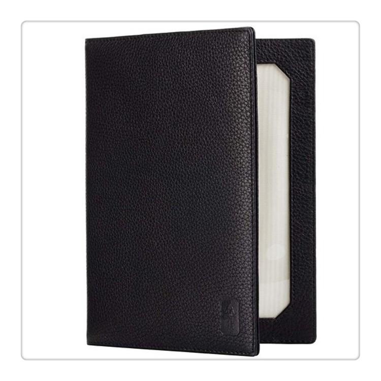 Luxury Black Leather Travel Folding