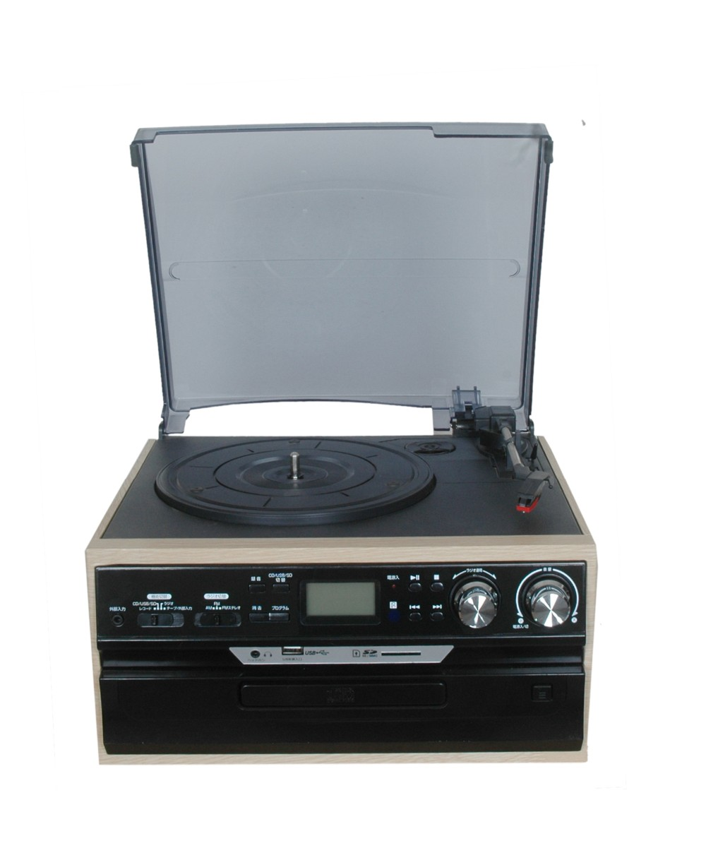 high end usb turntable record player vinyl record player with 3 speed lp recording for sale. Black Bedroom Furniture Sets. Home Design Ideas