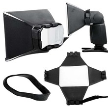New Camera & Photo Professinal Foldable Flash Diffuser Softbox for Canon Nikon Sony Pentax Vivitar Hgih Quanlity Wholesale