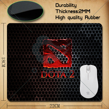 Games theme Dota 2 mouse pad S 220*180*2(MM) Gaming Mouse pad Free Shipping
