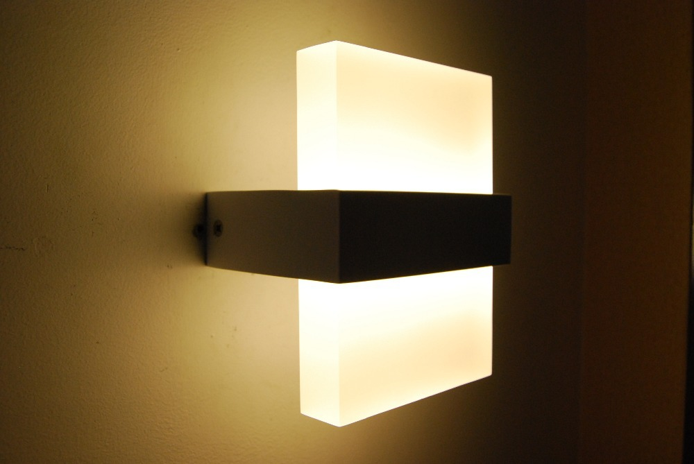 Modern Wall Light Led Bathroom Bedroom Lamp Bedside