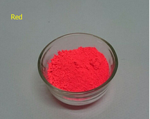 NEON Red Color Phosphor Powder Fluorescent Pigment for Cosmetic 50g lot Powder Fluorescence for Painting Nail