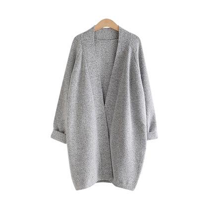 2015 European Style Women Plus size Cardigan Sweater Long