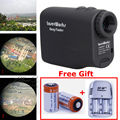 Free Shipping LaserWorks 600M Waterproof Laser Rangefinder Telescope Distance Speed Measurer for Hunting Golf 2 Battery
