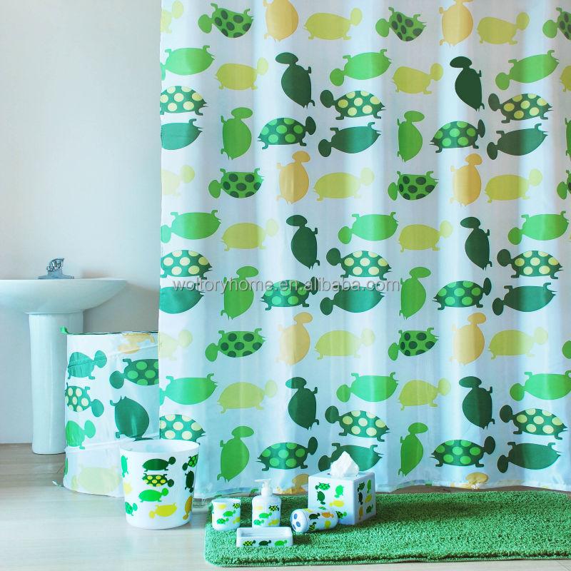 Wholesale Bathroom Set In Match Design,Turtle Green Bath Set,Shower  Curtain/bathmat Set/bath Accessories Set - Buy Wholesale Bathroom Set In  Match ...