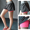 New Arrival Women Quick Dry Yoga Shorts With Lining Breathable and Comfortable Fitness Jogging Gym Running