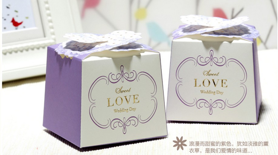 Boxed Wedding Invitations Wholesale: 2015 Wholesale New 100pcs Wedding Packaging Gift Boxes