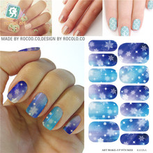 Waterproof nail stickers and selling the  move water make-up nail art decal sticker decorations-free Nail Polish K5725B