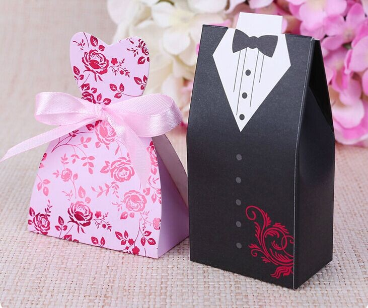 Detail Feedback Questions About 100pcs Bridal Gift Cases Groom